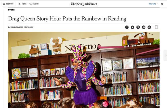 DQSH in NY Times