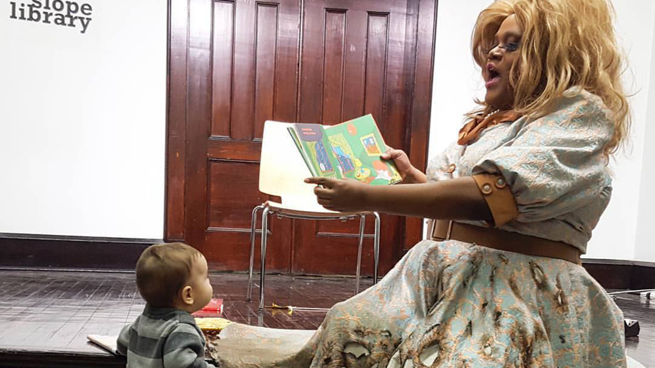 Drag Queen Story Hour - Merrie Cherry